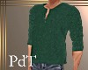 PdT Grn Sweater Henley M