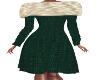 JK-Casual Green Dress