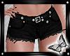 !! Black Jean Shorts