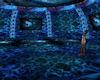Blue Retro  Dome