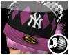 [LF] P-NY Cap - Pink F