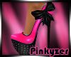 P! Bow Heels Pink