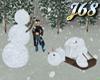J68 Snowman Tragedy!!!