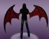 Red Demon Wings