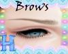 MEW brown eyebrows