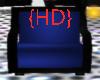 {HD} Blue Cuddle Chair