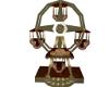Animated Gold Ferris whe