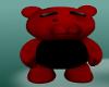 Black/Red Dancing Bear
