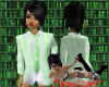 Female Suit Top - Green