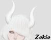 Succubus horns ||White