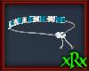 Dangle Bracelet Aqua