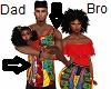 Kids Dad Afrocentric Top