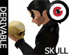 Hamlet Skull W/ Poses