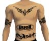 Buell Tattoos w/tribal