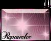 *R* Pink Sparkle Sticker