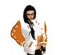 Poe's lt. Orange Jacket