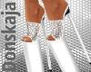 white leo shoes