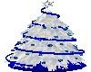 Skys Christmas Tree b/w