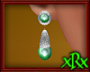Vintage Green Earrings S