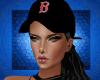 Cap Red Sox Black