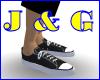 Black Converse Type