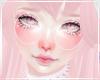 Cute Kawaii Pastel Pink White Horns Flowers