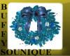 BSU Animated Blue Wreath