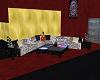 Crush Velvet Group Sofa