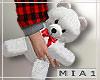 Xmas Couple Teddy M