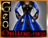 Geo KYRA black blue