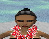 [OHB]RED AND WHITE LEI