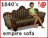 !@ Empire sofa 1840's