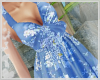 Floral Sundress Blue