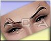 ♔ M Gangster Eyebrows