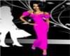 sassy pink long dress