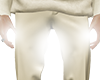 Null-slim tuck pants
