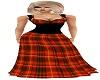*PFE Red tartan dress
