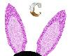 *C* pink bunny ears