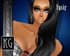 :kg Nuhia hair-blk
