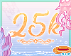 🥑 25k Support Sticker