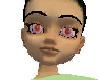 Albino/Pink eyes