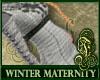 Winter Maternity White