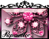 *R* Jewel Flower Sticker