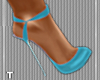 T l Powder Blue Heels