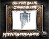 |MS|SilverBlueChandelier