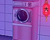 e Pink laundromat