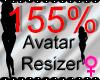 *M* Avatar Scaler 155%