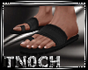 [T] Leather Sandals
