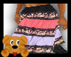 !A! Tier Skirt Multi Col