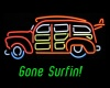 Neon Woody, Gone Surfin!